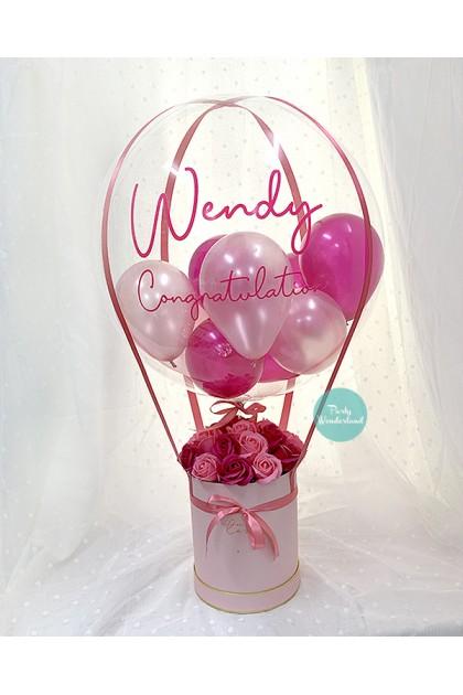 Massive Pink Balloon Bucket
